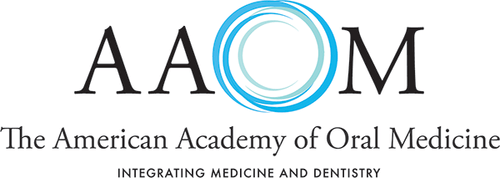 The American Academy of Oral Medicine ogo